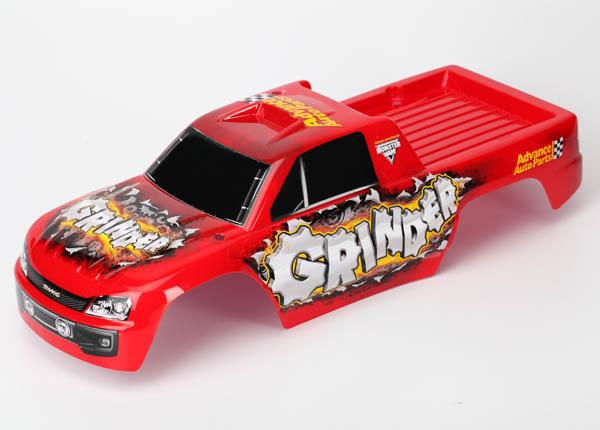 Traxxas Tires/Wheels Assembled/Glued Chrome (2)