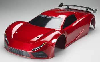 Traxxas Body Red XO-1