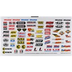 Sponsor Decal Sheet