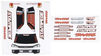 Traxxas Decal Sheets Stampede