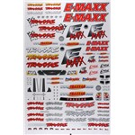 Traxxas E Maxx Decal Sheet