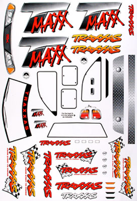Traxxas Traxxas T-Maxx Decal Sheet (TMX .15, 2.5)