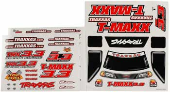 Traxxas Decal Sheet T-Maxx 3.3