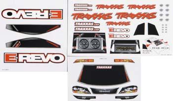 Traxxas Decal Sheet E-Revo (3)