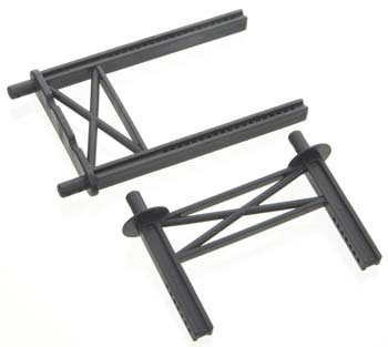 Traxxas Body Mount Posts, Front & Rear