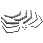 Traxxas Fender Flairs, Front & Rear (4