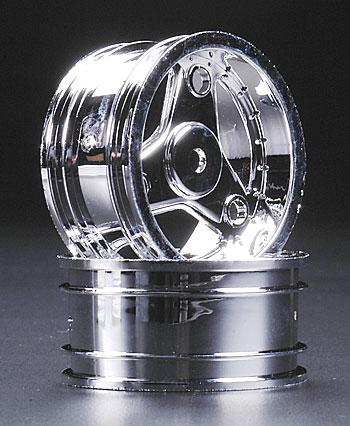 Traxxas Wheel Chrome 4-Tec (2)