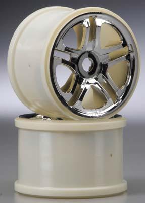 Traxxas 3.8 SS Wheels Chrome 5308