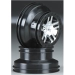 Traxxas Wheels SCT Split-Spoke Chrome Slash 4x4