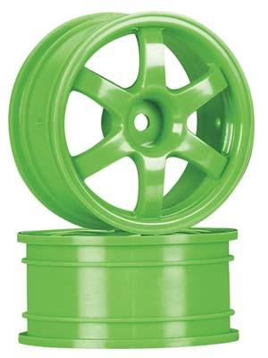 Traxxas Wheels, Volk Racing Te37 Green (2)
