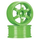 Wheels, Volk Racing Te37 Green (2)