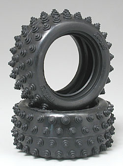"""Traxxas Tire Spiked 2.15\"""" Rear (2)"""