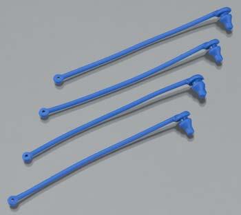 Traxxas Body Clip Retainer Blue Spartan (4)