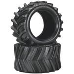 "Traxxas Maxx Chevron Tires 3.8"" (2) Revo/Maxx"