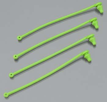 Traxxas Body Clip Retainer Green Spartan (4)
