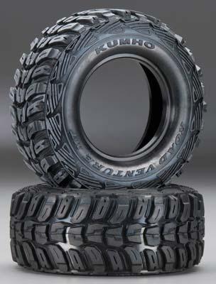 Traxxas Kumho Tires w/Inserts (2)