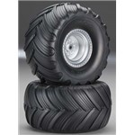 Terra Groove, Dual Profile Tire And Wheel, Electric Rear