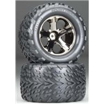 "2.8"" Talon Tire W/ All-Star Bk Chrome Fr (2)"