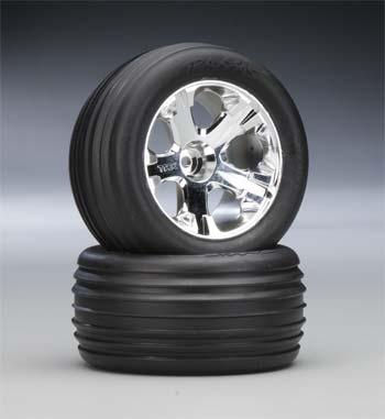 Traxxas Alias Tires/All-Star Whls Assm Fr 2.8 (2)