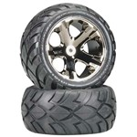 Traxxas Anaconda Tirew/All-Star Bk Chrome Elec Rr 1 Left & 1 Righ