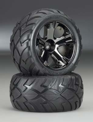 Traxxas Fr All-Star Whls+Anaconda Tires (2)