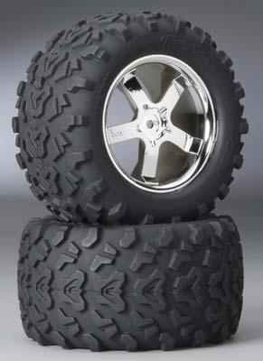 Traxxas Tires/Wheels T-Maxx 3.3 (2)