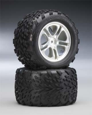 Traxxas Talon Tires/Whls Assm 3.8 (2) Mx/Revo