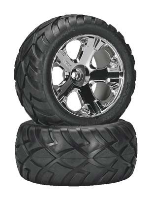 Traxxas Tires & Wheels Rear Jato 3.3