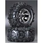 Traxxas Tires & Wheels, Assembled, Glu