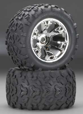 Traxxas Maxx Tires/Geode Wheels (2)