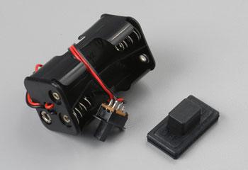 Traxxas Battery Holder/Switch/Cover Villain