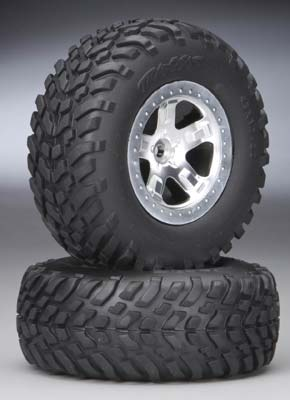 Traxxas Tires & Wheels, Assembled (Sla