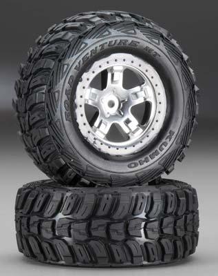 Traxxas Kumho/SCT 4WD Front/Rear 2WD Rear (2)