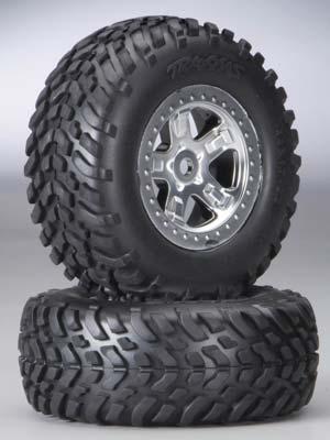 Traxxas Tires & Wheels Assembled Slayer (2)
