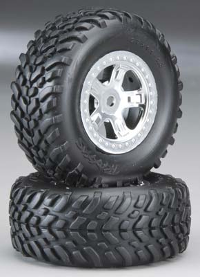 Traxxas Tires And Wheels, Assembled, G