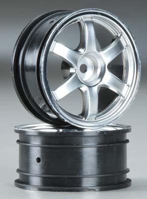 Traxxas Wheels Volk Racing TE37 Satin Chrome/Chrome (2)