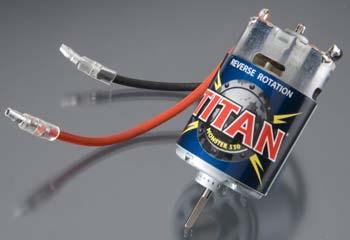 Traxxas Titan 550 Motor Reverse Rot