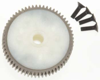 Traxxas Main Diff W/ Steel Ring Gear/ Side Cover Plate/ Sc Rews (Ban