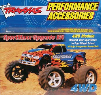 Traxxas 4WD Upgrade Kit SportMaxx