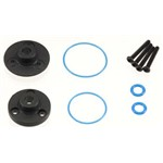Traxxas Cover Plates, Differential (Fr