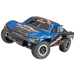 Traxxas Slash 4X4 1/10 Bl S.C. Race Truck, Rtr W/On Board Audio