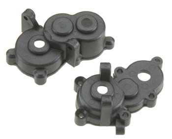 Traxxas Gearbox Halves, Front & Rear