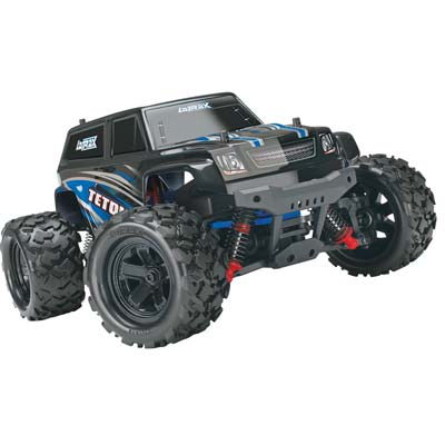 Traxxas Latrax 1/18 Teton Monster Truck 4Wd Rtr, W/ 2.4Ghz Radio, Batter