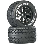 "Bandito MT 2.8"" Truck 2WD Mntd Re C2 Black (2)"