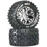 "Lockup MT 2.8"" Truck 2WD Mntd Rear C2 Chrm (2)"