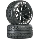 "DuraTrax Bandito ST 2.8"" Truck 2WD Mntd Re C2 Blk (2)"