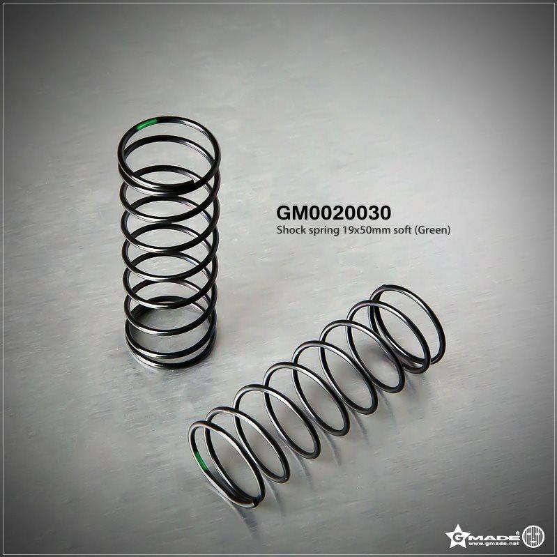 Gmade Shock Spring 19X50mm Soft Green (2)