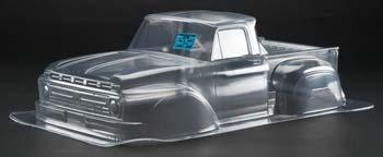 Proline \'66 Ford F-100 Clear Body Slash/Slash 4x4/SC10