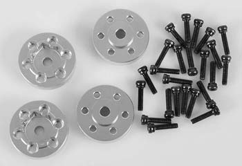 RC 4WD OEM Steel 1.9 Stock Beadlock Whl Hexes