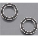 Ball Bearings Black Rubber Sealed 10x15x4mm (2)